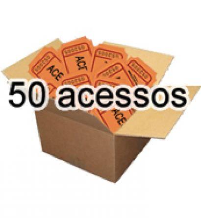 Cr�ditos Scot - 50 Acessos