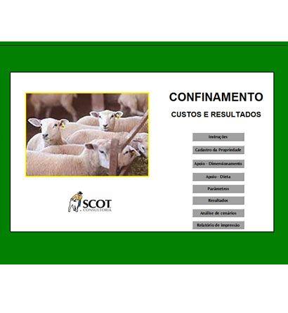 Planilha Confinamento: Custos e Resultados de Ovinos